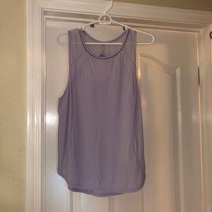 Lululemon light purple tank top